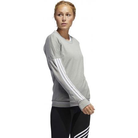 Dámske tričko s dlhým rukávom - adidas RESPONSE CREW W - 6
