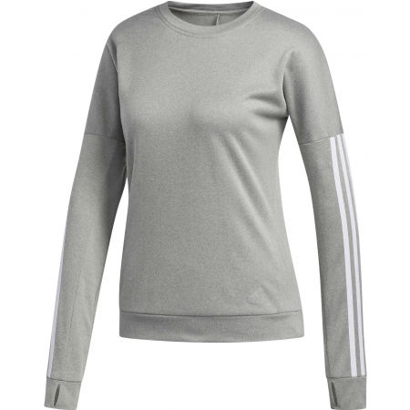 Dámske tričko s dlhým rukávom - adidas RESPONSE CREW W - 1