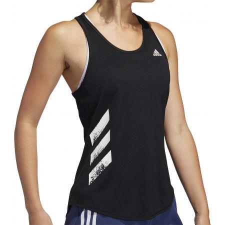 Women's sports tank top - adidas RUN IT TANK 3S - 9