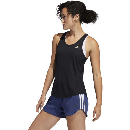 Women's sports tank top - adidas RUN IT TANK 3S - 5