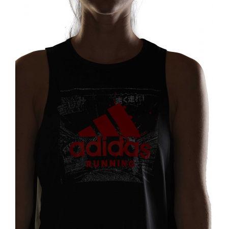 Дамски спортен потник - adidas FAST GFX CROP - 8