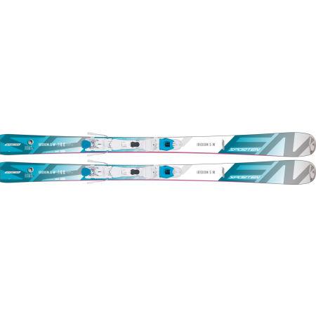 Dámské sjezdové lyže - Sporten IRIDIUM 5 W + VSP 311 - 3