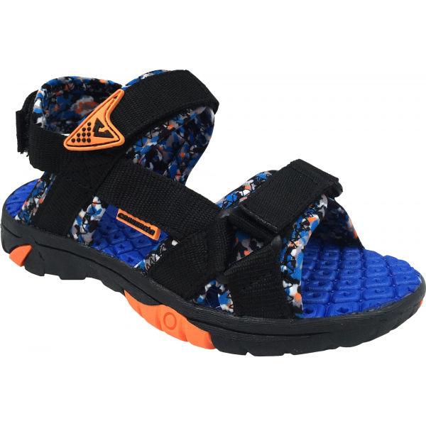 Crossroad MEEP modrá 29 - Dětské sandály
