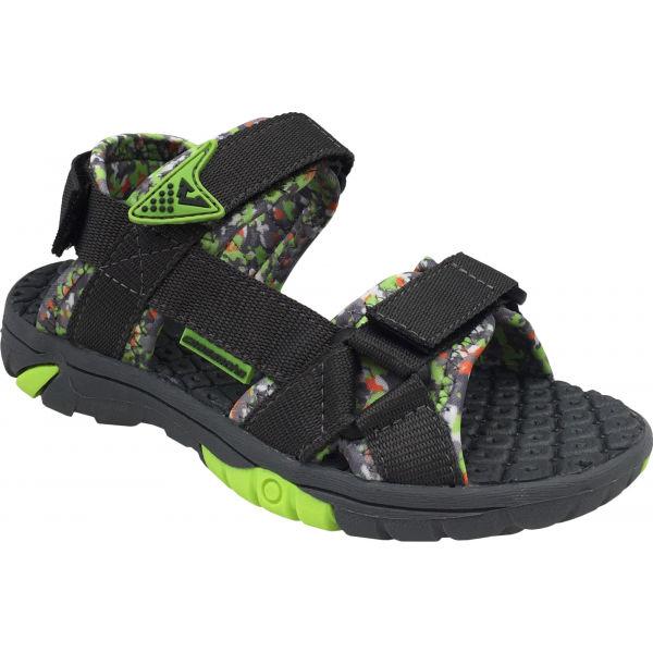 Crossroad MEEP černá 30 - Dětské sandály