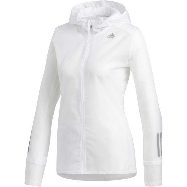 adidas RESPONSE JACKET bílá XL - Dámská sportovní bunda