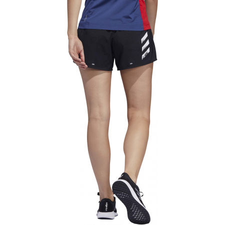 Women's shorts - adidas RUN IT SHORT 3S - 6