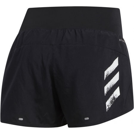 Women's shorts - adidas RUN IT SHORT 3S - 2