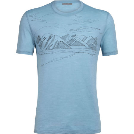 Icebreaker SPECTOR SS CREWE CORONET PEAK - Men's sports T-shirt