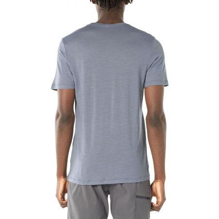 Pánske funkčné tričko - Icebreaker TECH LITE SS CREWE OTTER PADDLE - 4