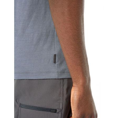 Pánske funkčné tričko - Icebreaker TECH LITE SS CREWE OTTER PADDLE - 6