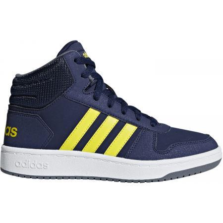 adidas HOOPS MID 2.0 K - Detská voľnočasová obuv