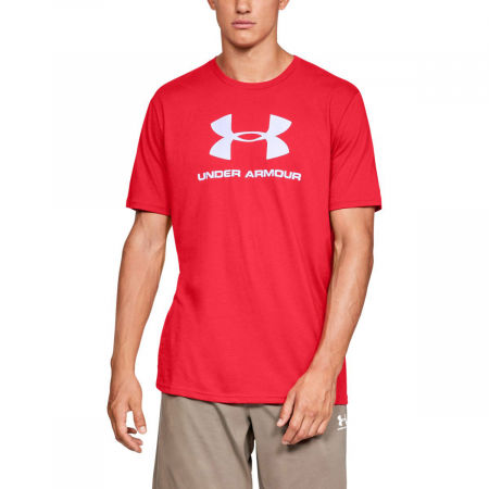 Men's T-shirt - Under Armour SPORTSTYLE LOGO SS - 3