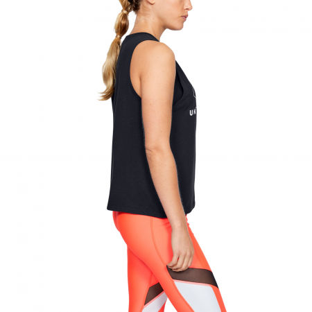 Damen Top - Under Armour SPORTSTYLE GRAPHIC MUSCLE SL - 5