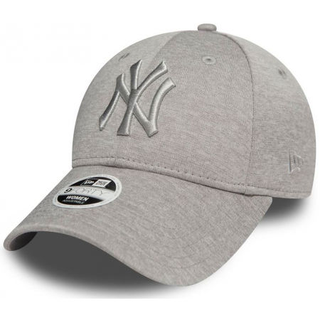 New Era 9FORTY W MLB JERSEY HEATHER NEW YORK YANKEES - Șapcă de club pentru femei