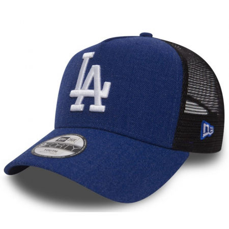 Kids' club trucker hat - New Era 9FORTY K SEAS AFRAME TRUCKER YTH LOS ANGELES DODGERS