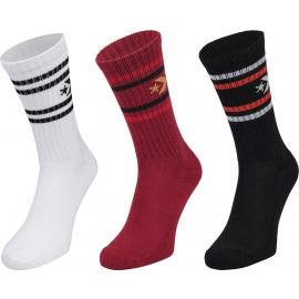 Converse MENS VINTAGE STAR 3P - Pánske ponožky