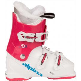 Alpina AJ3 GIRL - Dievčenská obuv na zjazdové lyžovanie