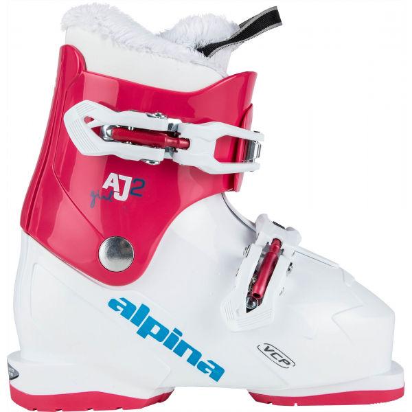 Alpina AJ2 GIRL - Dievčenská obuv na zjazdové lyžovanie