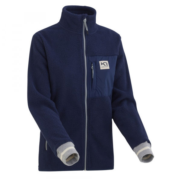 KARI TRAA ROTHE MIDLAYER kék M - Női sportpulóver