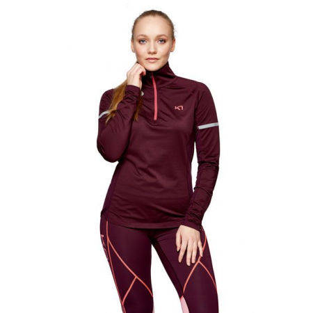 Women's sports jacket - KARI TRAA EMILIE H/Z - 2