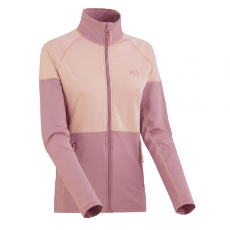 Women's sports hoodie - KARI TRAA MARIA F/Z - 1