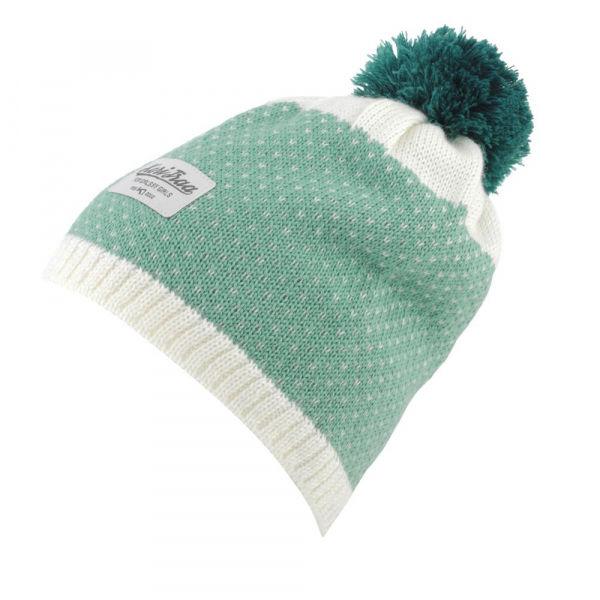 KARI TRAA SONGVE BEANIE zelená UNI - Dámská stylová čepice