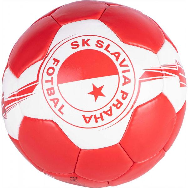 Quick SLAVIA bílá 5 - Fotbalový míč