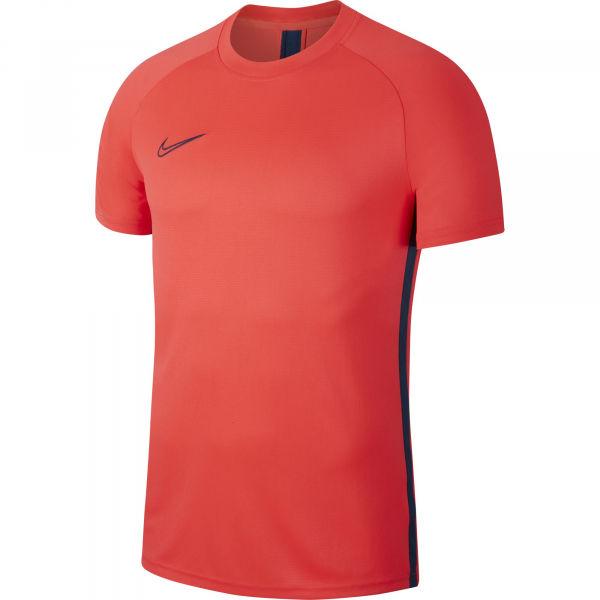 Nike DRY ACDMY TOP SS M oranžová S - Pánské fotbalové tričko