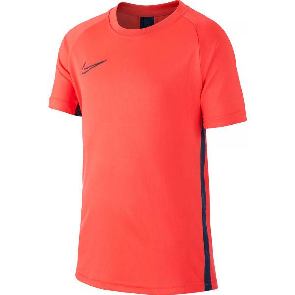 Nike DRY ACDMY TOP SS B oranžová XL - Chlapčenské futbalové tričko