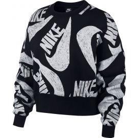Nike NSW ICN CLSH FLC CREW W - Dámska mikina
