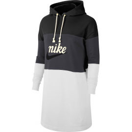 Nike NSW VRSTY HOODIE DRESS FT W - Sukienka damska
