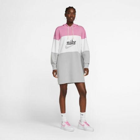 Dámske šaty - Nike NSW VRSTY HOODIE DRESS FT W - 6