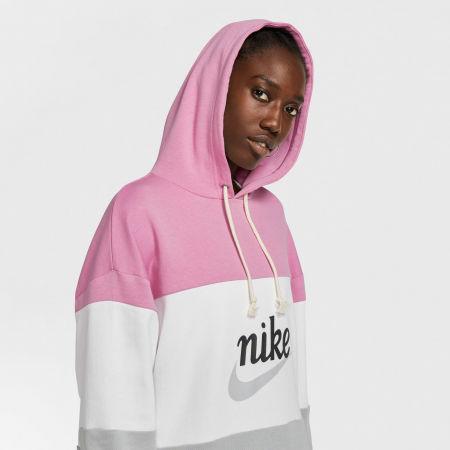 Dámske šaty - Nike NSW VRSTY HOODIE DRESS FT W - 5