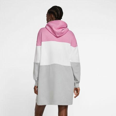 Dámske šaty - Nike NSW VRSTY HOODIE DRESS FT W - 4