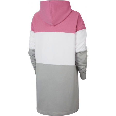 Dámske šaty - Nike NSW VRSTY HOODIE DRESS FT W - 2