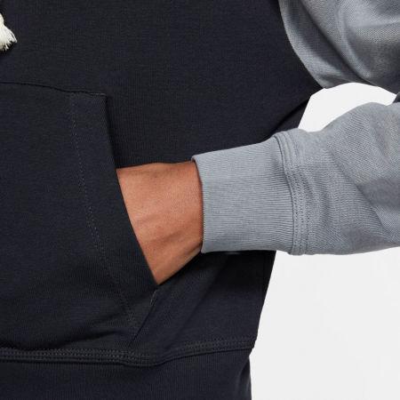 Women's sweatshirt - Nike NSW VRSTY HOODIE FZ FT W - 6
