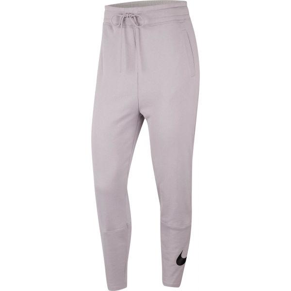 Nike NSW SWSH PANT FT W šedá M - Dámské kalhoty