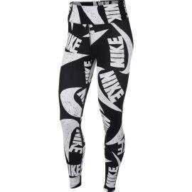 Nike NSW ICN CLSH LGGNG AOP W - Legginsy damskie