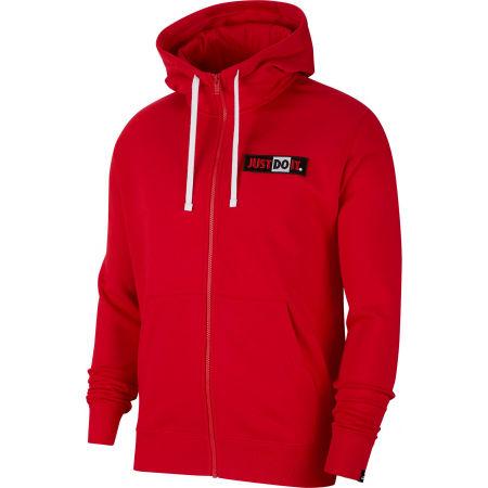 Nike NSW JDI HOODIE FZ FLC BSTR M - Pánska mikina