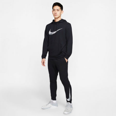 Men's training pants - Nike DRY PANT TAPER FLC GFX M - 8