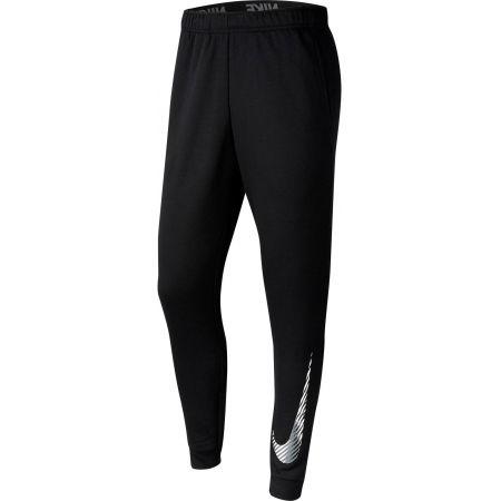 Pantaloni antrenament bărbați - Nike DRY PANT TAPER FLC GFX M - 1