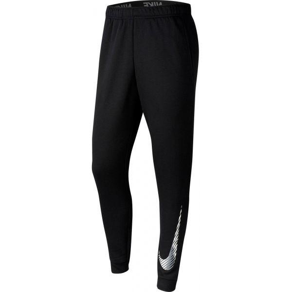 Nike DRY PANT TAPER FLC GFX M černá 2xl - Pánské tréninkové kalhoty