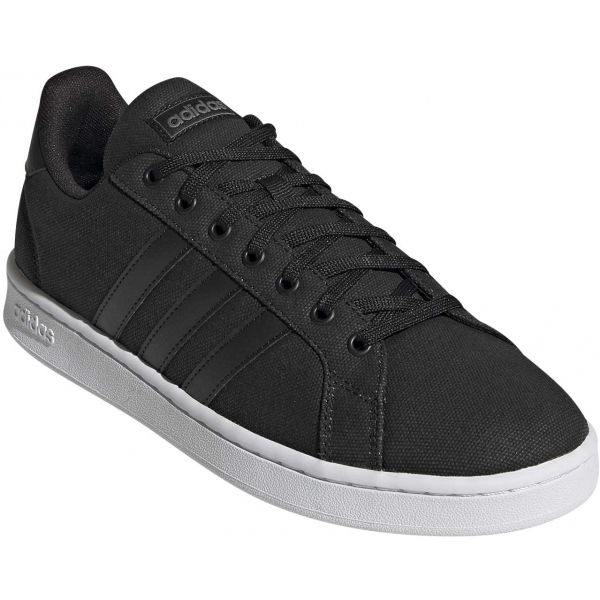 adidas GRAND COURT černá 8 - Pánská volnočasová obuv