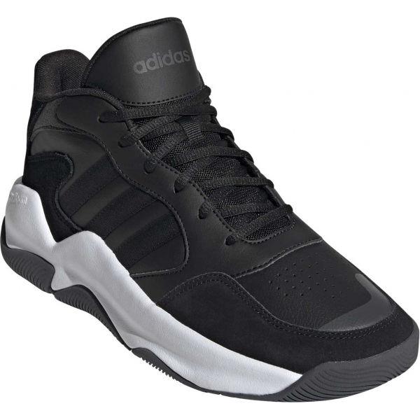 adidas STREETMIGHTY černá 8.5 - Pánská basketbalová obuv