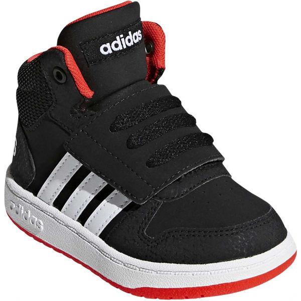 adidas HOOPS MID 2.0 I fekete 25 - Gyerek téli cipő