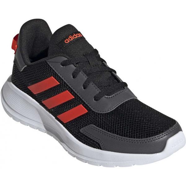 adidas TENSAUR RUN K černá 33 - Dětské vycházkové tenisky