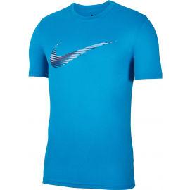 Nike DRY LEG TEE SNSL COM SWSH M - Pánské tréninkové tričko