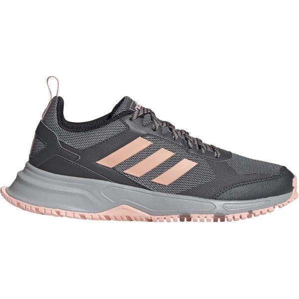 adidas ROCKADIA TRAIL 3.0 szary 5.5 - Obuwie trailowe damskie