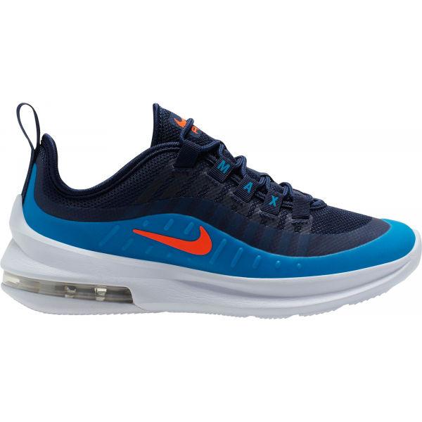 Nike AIR MAX AXIS GS tmavě modrá 6Y - Dětská volnočasová obuv