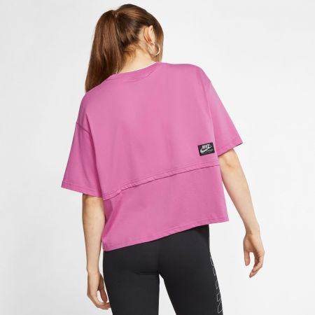 Women's T-shirt - Nike NSW ICN CLSH SS TOP W - 4